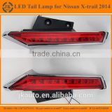 New Arrival Super Quality Rear LED Column Light for Nissan X-Trail Waterproof LED Tail Lamp for Nissan X-Trail 2014