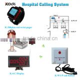 Wireless Patient Calling Alert Light System made in China Competitive Price Display Pager Watch Lighting Bell Bed Button