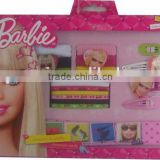 OEM--17PCS BARBIE HAIR ACCESSORIES SET(HAIRBAND,HAIR ELASTIC,HAIR CLIP,HAIR PONY)