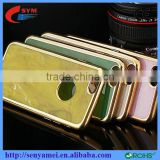 electroplating tpu marble phone case for iphone 6 6s 4.7 luxury