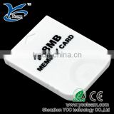 hot sell sd memory card for wii,128mb memory card for wii console