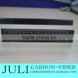 carbon fiber measure tool used in big machine, carbon fiber ruler for high precision machine