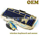 High Quality Wired Gaming Back Lighting Keyboard Mouse Combo