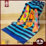wholesale high quality 100% cotton custom printed beach towel                                                                                                         Supplier's Choice