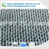 100% warp knit polyester fabric for upholstery, sofa, blanket with backing and two-tone effect