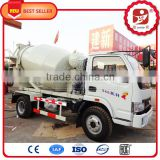 3 cubic meter concrete mixer truck mounted concrete mixer with spare parts for free