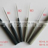warp knitting spare parts-hook needle 0.8/1.1 bent needle 0.8/1.1 straight needle crochet hook