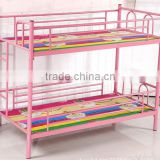 Colorful siesta bed for kids, kids double deck bed