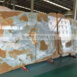 transparent stone blue onyx slabs wholesale price