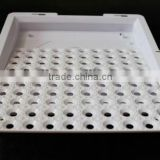 Square size Plastic white lamp cover of LED light with high quality and competitive quote