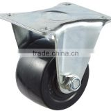 "2"", 2.5"", 3"" Black Color Ball Bearing Fixed Nylon Caster Wheel, low gravity, good load capacity"