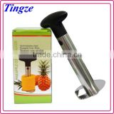 High quality Pineapple peeler corer slicer electric automatic easy stainless steel Pineapple slicer