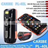 CARIBE PL-40L Aa061 Portable Handheld nfc access control reader support SDK,3G,GPRS,GPS,Wifi,Bluetooth