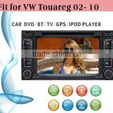 car dvd vcd cd mp3 mp4 player fit for VW Touareg 2002 - 2010 with radio bluetooth gps tv