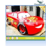 Cartoon car model, which is made of fiberglass                                                                         Quality Choice