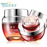 FANCY Red Ginseng Snail Cream Eye Cream Skin Care Ance Treatment Ageless Moisturizing Whitening Face Anti Wrinkle Beauty