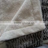 100% polyester cheap wholesale plush sherpa throw blanket                                                                         Quality Choice