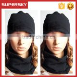A-763 Windproof Face Mask Neck Gaiter Thermal Ski Fleece Neck Warmer Snowboarding Polar Fleece Neck Warmers Snood Scarf Hat