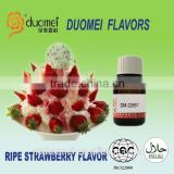 Ripe strawberry flavour food enhancer artificial flavours liquid flavor for cold drink