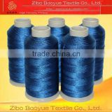 high strength polyester filament thread for leather goods industry