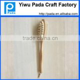 bristle wooden bath back massager brush