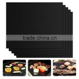 Non-Stick Barbecue Grilling Mats Heavy Duty Both Sides Reusable Easy Wash for Cooking Baking Charcoal / Gas Electric Grills                                                                         Quality Choice