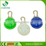 ABS material promotional round shape mini 1 led keychain flashlight                                                                         Quality Choice