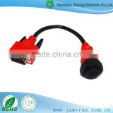 DB 15P TO MB 16P Female Vehicle Diagnostic cable Auto Testing Lines