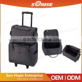 Nylon Waterproof Durable Hard Trolley Case Luggage, Business Travel Wheeled Luggage Case For Wholesale
