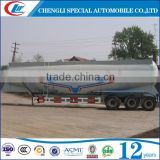 China Factory made 3 axle 50ton 30CBM capacity bulk powder cement trailer in stock cement bulker trailer for Kenya
