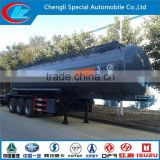 ASME STANDARD 3 axle liquid tank semi trailer anti corrosion special liquid tanker trailer used tanker trailers