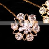 Embellishment Flower Bridal Bouquet Jewelry Accessories Fashion Crystal Rhinestone Brooch Pin for Wedding Bouquet