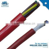 resistance to bend PUR single shielding drag chain cable PVC insulation oil resistance cable