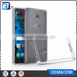 Hot! Acrylic TPU Ultra Thin Clear Transparent Plastic Cases Cover For Alcatel Fierce 4 Phone Accessories Mobile