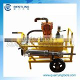 Granite Splitting Tools Diesel Driven Hydraulic Rock Splitter