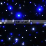RGB led start cloth light/ led star curtain