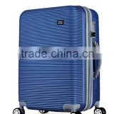 hot sale travel house luggage with spinner wheels TSA lock zipper in guangdong luggage factory