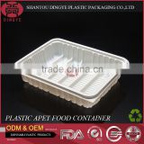 Custom APET Plastic Food Container with Lid Frozen Food Box Packaging XS-CYJ-001