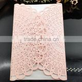2016 hot sale Factory price Customized Free samples chinese wedding invitation card Shenzhen