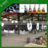 Good Quality High Efficiency Continuous Waste Tire Oil Pyrolysis Plant With No Pollution
