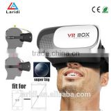"Upgrade VR BOX 2.0 Head Mount Plastic Version Virtual Reality Glasses 3d Game Movie Google Cardboard for 3.5"" ~6.0"" Smart Phone"