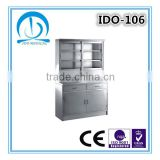 Chinese Herbal Glass Door Medicine Cabinets