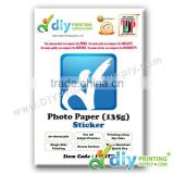 Photo Paper 135g (Sticker) (20 sheets/pkt)