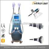 New arrival professional OEM/ODM Cryo + RF + Cavitation Max -10 Celsius non invasive lipo laser slimming machine