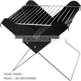 Portable X-Shape Foldable BBQ oven with customized printing logo or laser engraving logo Outdoor BBQ Grill