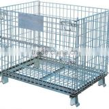 Collapsible Wire Mesh Container for storaging system