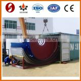 Overseas After-sales Service Provided 50 tons cement storage silo,cement steel silo,bulk powder storage silo