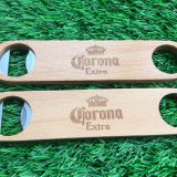 latest design wooden bottle opener stainless steel bottle opener