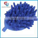 Microfiber Premium Car Wash Mitt ,Dual Sided Chenille Glove Cleaning Cloth Towel for Car