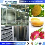 Food Quick Freezing Fruit Meat Seafood Batch Freezer For Sale